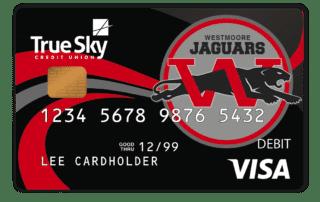 True Sky Community Card Westmore Jaguars