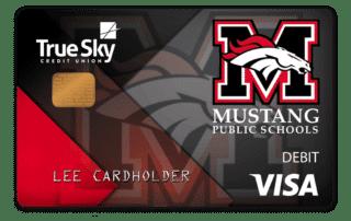 True Sky Community Card Mustang
